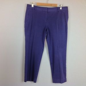 Ann Taylor Loft Chino Pants Womens 14 Cropped